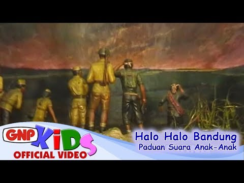 Halo Halo Bandung - Paduan Suara Anak-Anak