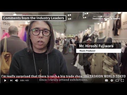 FASHION WORLD TOKYO 2017 -Show Introduction Video- (English)