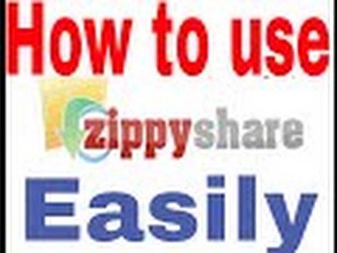 How To Use Zippyshare Com