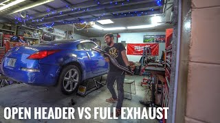 Project Seat Time 350z EP.1 Fabricobbling an Exhaust