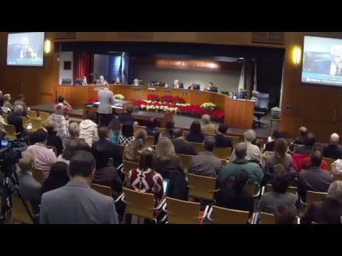 Cupertino City Council Swearing-In Prep and Event Time Lapse, 2015