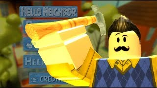 ROBLOX Hello Neighbor BETA aggiornamenti!