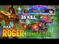 SAVAGE ! 26 KILL ! Roger Savage Build 2020 | Supreme Saudi Arabia No.1 ROGER | By ʜᴜʟᴋ ˞  |