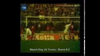 Italian Serie A Top Scorers: 1980-1981 Roberto Pruzzo (Roma) 18 goals