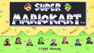 Super Mario Kart - Android Gameplay [Super Nintendo] [720p HD]