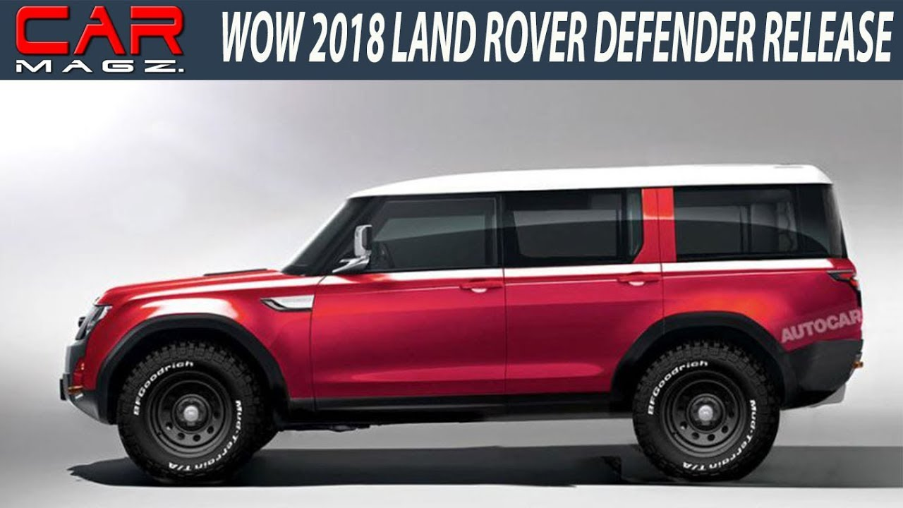 2018 Land Rover Defender Usa Price And Release Date