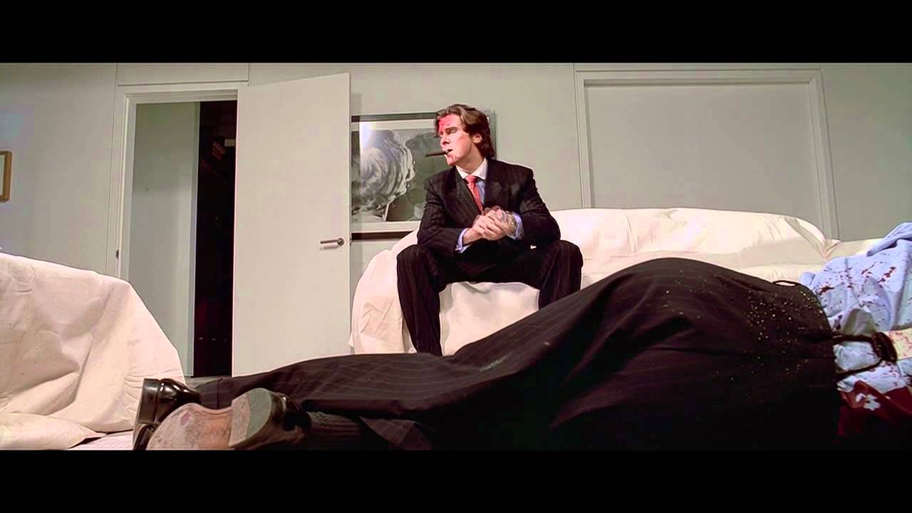American Psycho - Axe scene - YouTube