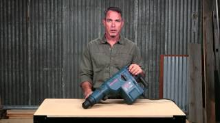 "Bosch Power Tools - 11245EVS 2"" SDS-max® Combination Hammer Product Video"