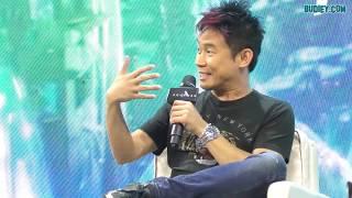 AQUAMAN: PC With James Wan, Jason Momoa & Amber Heard at Manila
