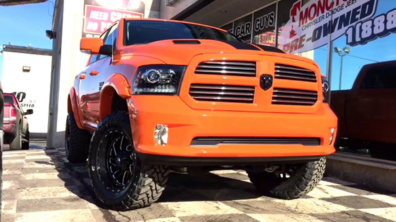 "2017 RAM 1500 SPORT| 6"" PROCOMP SUSPENSION LIFT 