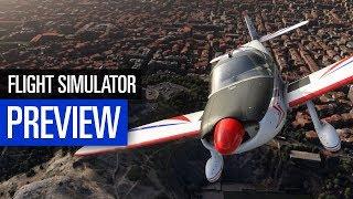 Microsoft Flight Simulator | PREVIEW | Unser erster Eindruck