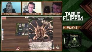 Legendary Encounters: An Alien Deck Building Game - Ep. 2 Gameplay - Table Flippin Board Games