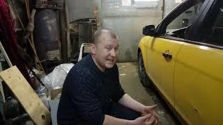 Обзор. Жёлтый Форд Фокус 2. Такси или нет? ( Ford Focus 2 )