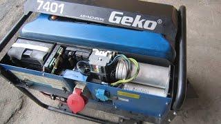 Обзор генератора Geko 7401