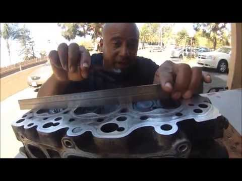 HOW TO RESURFACE A WARPED CYLINDER HEAD AT HOME WITH SAND PAPER