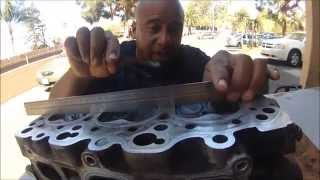 HOW TO RESURFACE A WARPED CYLINDER HEAD AT HOME WITH SAND PAPER thumbnail