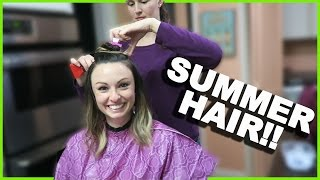 Repeat youtube video NEW SUMMER HAIR DON'T CARE!