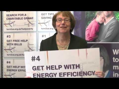 Annette Brooke, MP supports Turn2us Fuel Poverty campaign