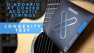 Longevity Test - Coated D'Addario XT - New favourite strings?