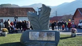 Sfintirea unui nou Monument al Eroilor  la Cehei, Simleu Silvaniei