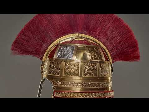 The Staffordshire Hoard Helmet