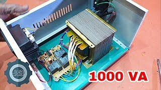 How To Make 1000 VA Automatic Stabilizer Easy At Home.YT- 86