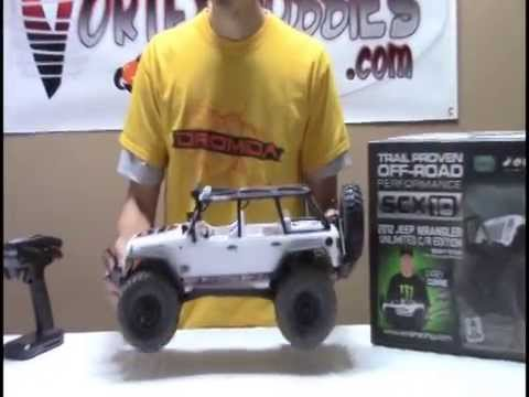 Axial SCX10 Jeep Wrangler Unlimited C/R Edition Review - Vortex Hobbies