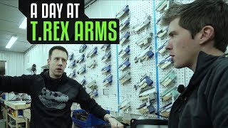 A Day at T.REX ARMS with Lucas Botkin