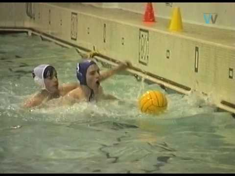 Water Polo at the old Connon Street baths in 1996.