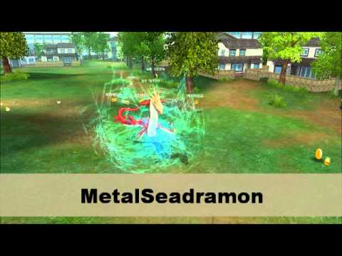 Digimon Masters Online - Betamon - all evolutions and attacks
