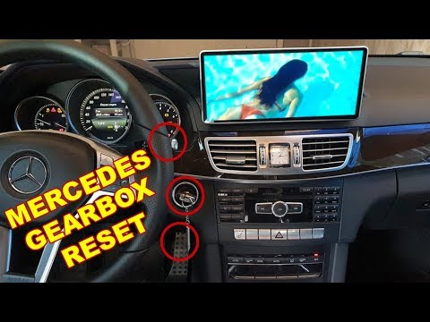 How to Reset Mercedes Automatic Transmission 722 9, 722 6 / Reset Mercedes  W212 722 9 GEARBOX