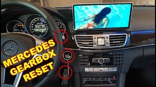 How to Reset Mercedes Automatic Transmission 722.9, 722.6 / Reset Mercedes W212 722.9 GEARBOX