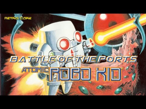 Battle of the Ports - Atomic Robo-Kid (アトミック・ロボキッド) (Show #59) 60fps