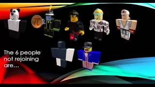 The Return of Total Drama Roblox Elimination Order! Season 5