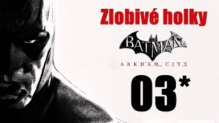 CZ tit. | Let's Play | Batman: Arkham City | #03 | NG+ | 1080p