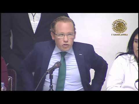 Comparecencia Del C. Santiago Taboada Cortina, Alcalde En Benito Juárez