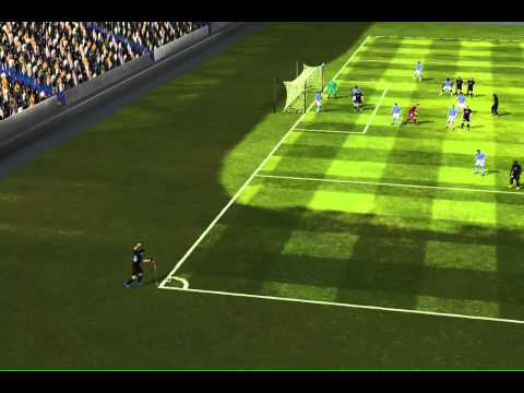 Buffon, gol di testa - Juventus vs. Manchester City (FIFA 14)
