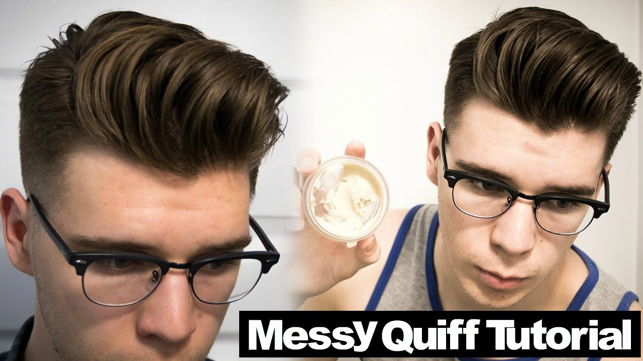 Hairstyles For Men Tutorial  Fade Haircut