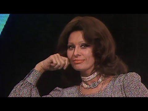 Sophia Loren im Astro-Talk (1979)