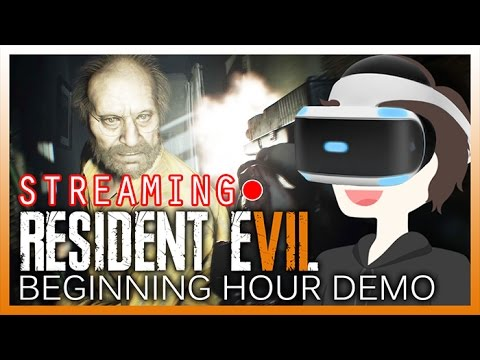 Resident Evil 7 Demo Ps4 VR stream!! THIS IS AMAZING!!!