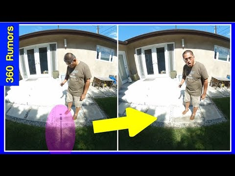 How to remove the tripod in 360 videos - Immersive Shooter