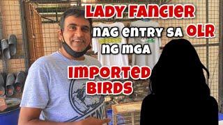 LADY FANCIER, NAG ENTRY SA OLR NG MGA IMPORTED BIRDS |Reggie Cruz Loft & Aviary #reggiecruzloft