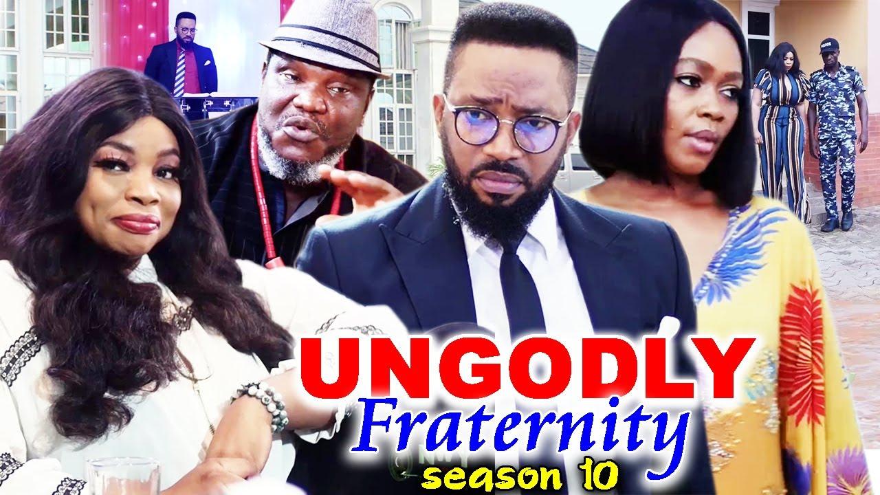 Download UNGODLY FRATERNITY SEASON 10-(Trending New Movie)Fredrick Leonard 2021 Latest Nigerian Movie Full HD