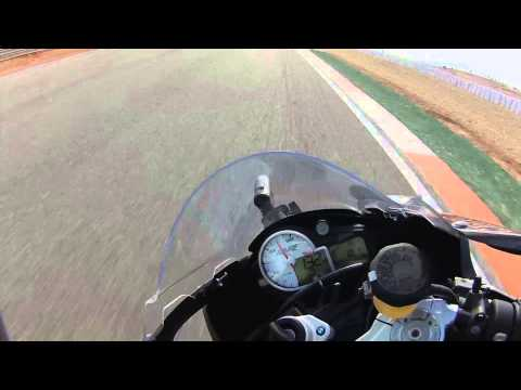Bmw s1000rr onboard @ Cartagena riding with Troy Corser