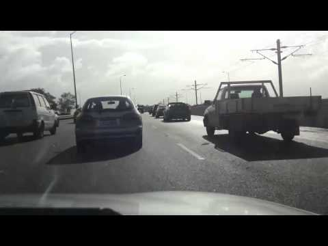 Driving from Canning Vale to Perth - Time Lapse (28-07-11)