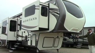 New 2016 Keystone Montana 3711FL Fifth Wheel RV - Holiday World of Houston & Dallas
