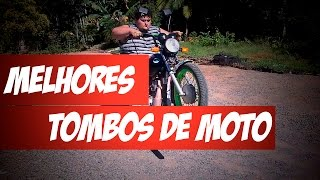 Tombos de Motos Engraçados - 2016 (Fail Motorcycle Compilation)