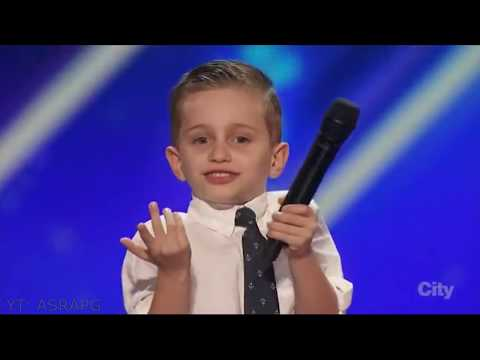 Youngest America's Got Talent Comedian | Nathan Bockstahler | Full Audition & Performances