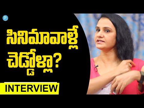 Film Artist Apoorva compares Tollywood and Society    Telugu Popular TV