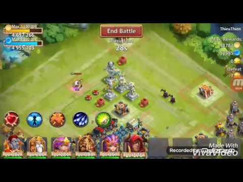 Skull Knight (Heaven's Wrath 5/5) Vs Grimfiend (Scatter 5/8)